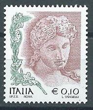 2002 ITALIA DONNA DELL'ARTE 10 CENT MNH **