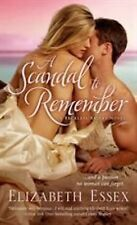 A SCANDAL TO REMEMBER by Elizabeth Essex RESTLESS BRIDES #5 ~ HISTORICAL ROMANCE