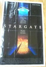 1994 Stargate Movie Poster, Folded