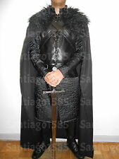 Game of Thrones Jon Snow Nights Watch Costume Adult mens