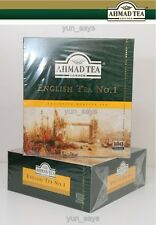 Ahmad Tea té inglés No. 1 7oz/200g 100 Teabags
