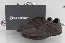^Mens ROCKPORT SPORTS LITE MUDGUARD brown leather sneakers sz. 9 M NEW!
