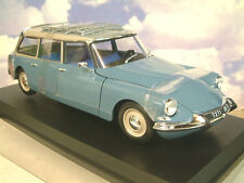 NOREV 1/18 DIECAST 1967 CITROEN ID (DS) 19 BREAK/ESTATE MONTE CARLO BLUE 181591