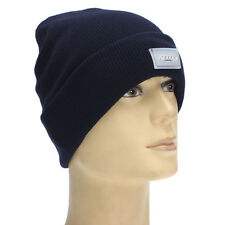 NEW Men Women 5-LED Lights Outdoor Cap Beanie Winter Warm Hat Batteries Included