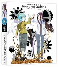 Sword Art Online II Series 2 Part 1 Collectors Blu ray & DVD New & Sealed ANIME