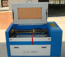 Brand New 50W CO2 Laser Engraving Cutting Machine with Auxiliary Rotary Device