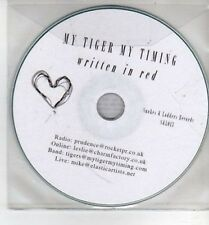 (CH908) My Tiger My Timing, Written In Red - 2011 DJ CD