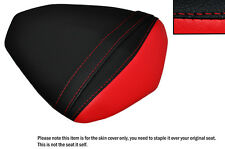 DESIGN 2 BLACK & RED CUSTOM FITS YAMAHA YZF R1 09-14 1000 REAR SEAT COVER