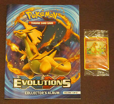 New Pokemon Exclusive Charmander Holo Promo card & Collectors Album Volume 1