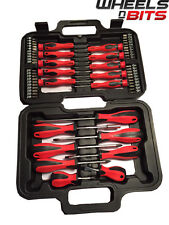 58pc Set cacciaviti in caso TOOL KIT Torx Bit Phillips precisione Intagliato GARAGE