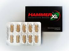 10 Hammer XL Natural Testosterone Booster Sexual Male Enhancement Erection Pill