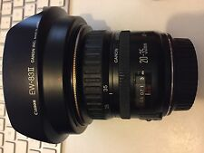CANON EF 20-35MM f 1:3.5-4.5 ULTRASONIC GRANDANGOLARE