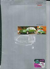 1995 AUDI A4 Avant brochure poster ita 1.9TDI- 1.6- 1.8- 1.8 T- V6 2.8 - quattro