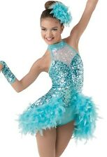 Ice skating dress Competition Figure Skating Twirling Costume adult  child dance