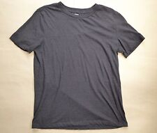 Arizona Jean Short Sleeve T-Shirt Size Large Slim Fit Heather Navy Blue Crewneck