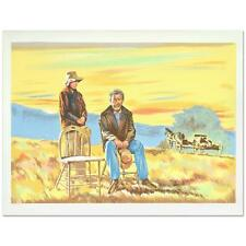"""William Nelson - """"The Homesteaders"""" Limited Edition Lithograph"""