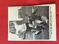 m2M ephemera 1966 football picture ron harris alan gilzean marvin hinton spurs