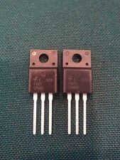 2 x FQPF12N60 12N60C ORIGINAL FSC + Heat Sink Compound + USA FREE SHIPPING