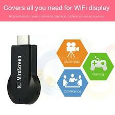 MiraScreen HD 1080P WiFi Display Receiver DLNA Airplay Miracast TV Dongle H4E6