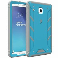 Revolution Case w/ Built-In Screen Protector For Galaxy Tab E 8.0 Blue