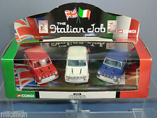 "CORGI MODEL No.CC 05506  'THE ITALIAN JOB'  3 MINI'S      ""3rd VERSION""      MIB"