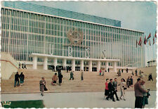 1958 Belgian photo card Pavilion of the USSR on WORLD EXHIBITION IN BRUSSELS