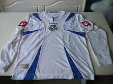 maillot de foot Panama Lotto L blanc camiseta,jersey Shirt collector