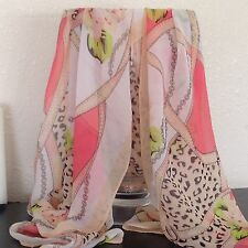 Fashion Womens Long Style Wrap Lady Shawl Chiffon Scarf Scarves Ships From Calif