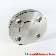 "1"" 150 LB Blind Flange, A/SA182, B16.5, F316/316L Stainless Steel"