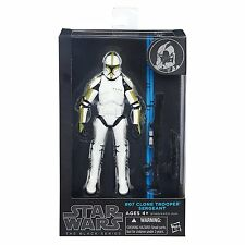 "Hasbro Star Wars The Black Series 6"" W4/14 #07 Clone Trooper Sergeant Figure"