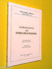 AA.vv., Introduzione alla storia delle religioni. 2008, Miscellanea Francescana