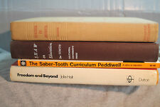 lot old EDUCATION TEACHING Teacher in America The Saber Tooth curriculum Freedom