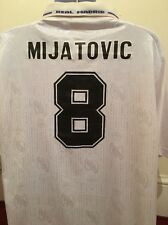Real Madrid Shirt-8 Mijatovic Size L
