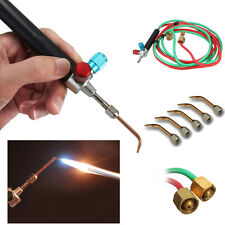 Hot Jewelry Jewelers Micro Mini Gas Little Torch Welding Soldering kit & 5 tips