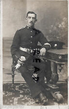 Soldier Pte Devons Devonshire Regiment  regular battalion in full dress