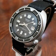 VINTAGE SEIKO DIVER * REF. 6105/8119 * STAINLESS STEEL CAL.6105B