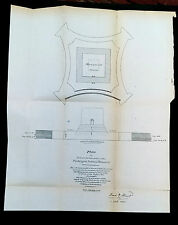 Original 1877 Design Plan to Sustain Foundation of Washingon National Monument