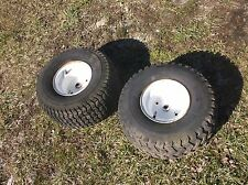 Craftsman lt 4000 917.252512 riding mower rear wheels tires 18x9.50-8