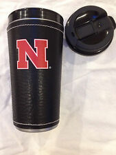 University of Nebraska Insulated Hot Beverage Travel Mug for Coffee Tea etc
