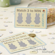 Baby Shower SCRATCH CARD GAME -Unisex Birthday Party- FULL MIFFY RANGE IN SHOP!
