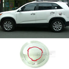 Chrome Fuel Cap Cover Molding Cover Garnish Trim For KIA 2010 - 2014 Sorento R