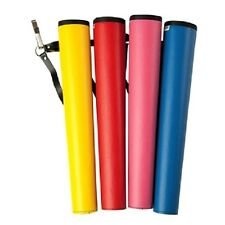 NEET YOUTH archery arrow TUBE Quiver YELLOW childs childrens vinyl 17in 06123