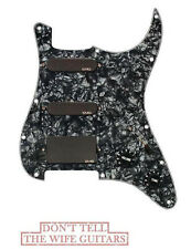 EMG SL20 Steve Lukather SLV + SLV + 85 Active Black Pearl Pickguard Loaded