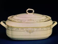 NEW Noritake BARRYMORE Covered Vegetable Bowl - Oval Casserole - NEW IN BOX