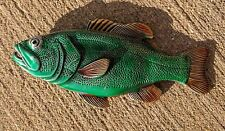 ✖ Fishing fish Belt Buckle Full Metal outdoors  Gone fishin  color USA Country