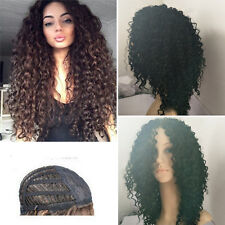 """22"""" Fashion Long Afro Kinky Curly Synthetic Wig Full Hair Wig for Black Women"""