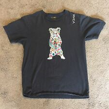RVCA ARTIST NETWORK PROGRAM T SHIRT SIZE LARGE L!!