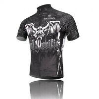 Summer Skull Cycling Wear Team Clothes / Bike Top / Bicycle Jersey Polyester