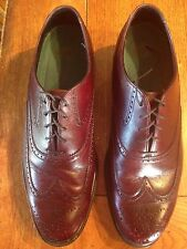 Men's Wing Tip Hush Puppies Reddish Brown Size 11.5M