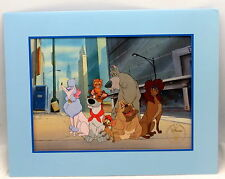 Disney Lithograph 1996 Oliver & Company Exclusive Store Commemorative w Envelope